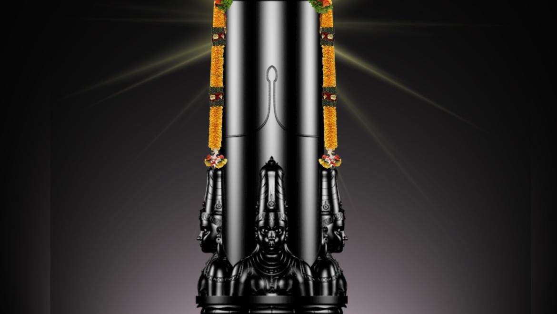 Panchamukha Maha Shiva Lingam