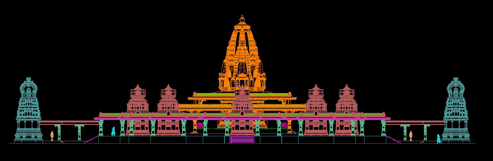Construction of Ashtabhairava Temple